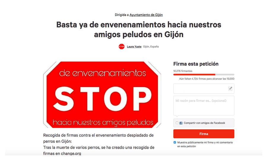 Stop veneno gijón