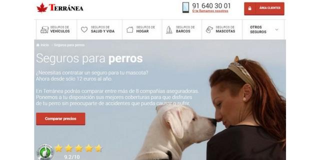 Resultado de imagen de terranea seguros perros