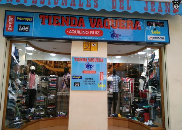 4bc5d4c13413b Tienda vaquera Aquilino ruiz