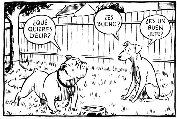 Buen Perro un cmic para perros y humanos que buscan su lugar